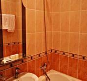 Гостиница Корона. 1-местн номер. Ванная